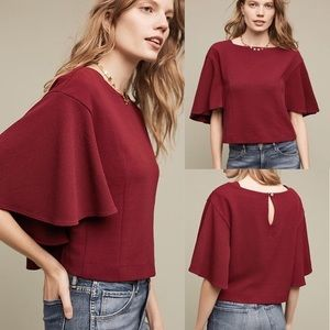 Anthropologie Cropped Vic Top